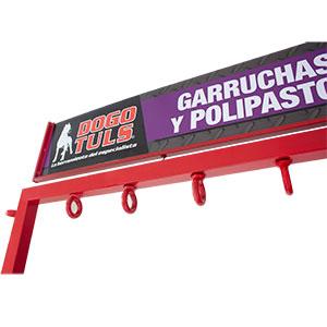 EXHIBIDOR DE GARRUCHAS Y POLIPASTOS VACÍO