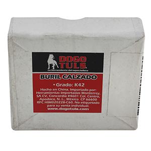 """BURIL CALZADO PUNTA 80° MODELO D4 -1/4"""""""