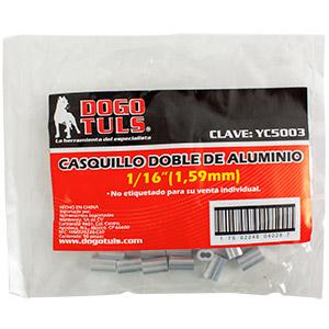 "CASQUILLO DOBLE 1/16"""
