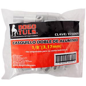 "CASQUILLO DOBLE 1/8"""